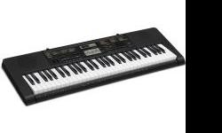 I got this keyboard for Christmas to learn how to play but I am finding that I am not enjoying it and it takes too much time so I have decided to sell it. It's only been used a handful of times and it's practically new. Here are the features: 400 AHL