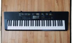 Casio CTK-2400 61 Note Keyboard for sale Excellent condition in box with manual, song book and power adapter. Features: Sound EFX Sampler Built-in Microphone Step-up learning system 400 Keyboard Voices 48 Note Polyphony 150 Rhythms 110 Songs Easy to play.