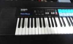 **Money Maxx** has a Casio CA-100 keyboard -100 different tones plus 100 different beat patterns