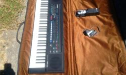 casio mr. entertainer keyboard case and sustain pedal all in new condition