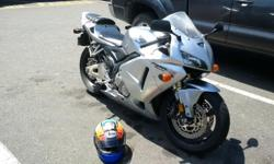2006 CBR 600RR. Very good condition. Only 13000km! Just enjoyed a nice nostalgic ride across half this beautiful country and she rides like a dream. Very reliable. Time for me to get back to driving the minivan again :). Optional: full riding gear, Arai