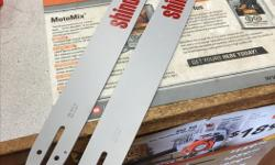 """Special purchase on replacement chainsaw bars. These are Shindaiwa branded, Canadian made Oregon power match bars in 3/8"""" pitch .050"""" gauge D009 mount which will fit large mount Husqvarna, Jonsered, Shindaiwa and other chainsaws. 20"""" bar with chain $60"""