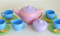 No, i dont have kids or know of any child that just so happens to love tea. these are for myself. I'm a costume maker and this latest project would be kicked up a notch by these items as props. the character is based off of little miss muffet, she is a