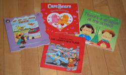 Lots of children's books in great condition. See photos for titles. Prefer to sell in bundles. Prices range from 2-4 dollars per book.