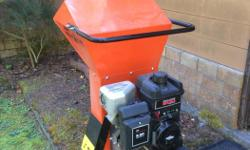 Echo Bearcat chipper/shredder, 900 series (nine horsepower Brigs and Stratton) Bought two years ago and used maybe only eight times since then. In excellent condition.