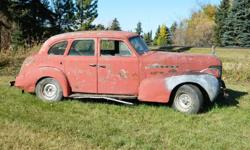 1939 Oldsmobile 70 Series sedan - mostly complete good restoration project body in decent shape suicide doors motor runs drive train functions all chrome all interior reason for selling: too many projects of our own no tire kickers (last picture included