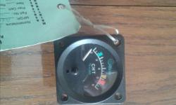 Certified Cylinder Head Temp gauge. New and never installed. Comes with certification Please reply with a your telephone number and I will call you. NO texting please