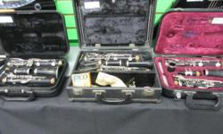 We have a few Clarinets for sale starting at $99