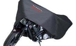 """Classic MotoGear Motorcycle Dust Cover for Cruiser Indoor storage cover 102"""" long x 46"""" wide x 62"""" high Never used still in box with bag"""