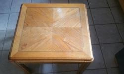 Solid Oak wood coffee table in good condition.