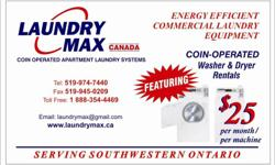 Coin operated washers and dryers   519-974-7440