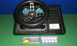 Item: This was an accessory made for the Coleco Vision. Works well and is in over all like new condition. If you like your racers on the Coleco then this is a must have uncommon accessory. This is an official product released by Coleco. All games &