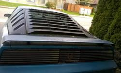 Make Pontiac Model Firebird Trans Am Colour Teal Trans Automatic kms 147000 Complete car, eme for more info, make an offer today.
