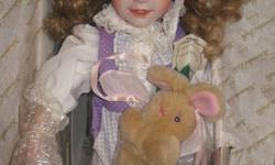Selling collectible dolls, as pictured. Taking offers. Look for my other doll listings.