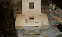 For sale Hewlett Packard  combination fax/printer/scanner 50.00 (705)236-4311