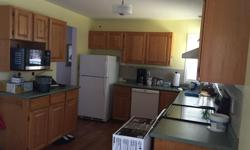 See the pics - all the kitchen cabinets (top and bottom) lower cabinets /laminate countertop available next Friday/Saturday (not selling faucet or appliances). Good used condition /solid wood - schedule pickup for upper cabinets tomorrow (Sunday) 9-12,
