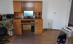 used desk lots or cupboards and drawers $200.00 or best offer