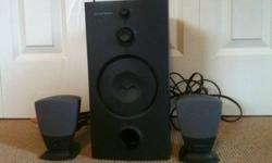 Used Harman Kardon speaker system for your computer. Works as it should. Email me for details.