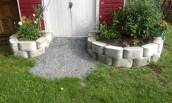 Build your own custom concrete planters any size or shape you desire with formablok molds.