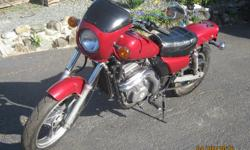 1993 Kawasaki EL250, stripped down from the factory version but have all the removed factory parts to bring back if buyer wishes. 41,00 kls, new tires, custom exhaust (factory come with it), new Shori battery. Senior owned, runs good, lots of fun! $1,650