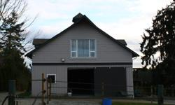 # Bath 1 Sq Ft 700 Pets No Smoking No # Bed 1 Available Dec. 1st. Lovely open concept loft suite located over barn on equestrian farm in North Saanich. Suitable for 1 person. Suite is 700 sq. ft has gas fireplace, (heat source) gas stove, full size