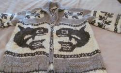 Cowichan sweater. Size Large, Comes from a no smoking home.