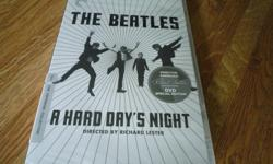 Selling a nice sealed and unopened Criterion Collection edition of the classic Beatles movie: A Hard Days Night. Meet the Beatles! Just one month after they exploded onto the U.S. scene with their Ed Sullivan Show appearance, John, Paul, George, and Ringo