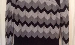 """""""Buffalo by David Bitton"""" Label Chevron pattern, 60% Cotton, 40% Viscose."""