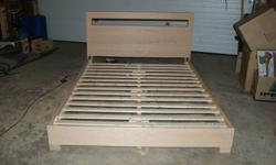 Ever wanted to own a custom bed? Now's your chance! Oak is a hardwood that will withstand the years and with this solid design it will last you a very long time. I will measure your mattress to make sure it will fit perfectly and if you want to, we can