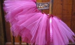 """""""Twinkle Twinkle Custom Tutus"""" ~ Custom tutus for the special little girl in your life - from dress-up to dance class! Standard tutu prices range from $15-25 for size newborn - 6T. Additional options & styles (including tutu dresses, extra colours, etc)"""