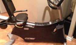 Cybex Cyclone 530r Recumbent Bike New 3600.00 reconditioned 2000.00 Selling for first 750 This is a professional machine as used in fitness centers and sports clubs