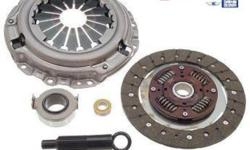 Daikin / Exedy OE replacment clutch kits available with installation. These kits come with clutch disc, pressure plate, release bearing, flywheel bearings. The package prices are as follows: All SOHC Civic / CRX / Del Sol (88-2000) - $435 Installed All