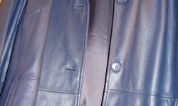 Three quarter length with zip out lining Beautiful colour, classic style Never worn SMOKE FREE HOME