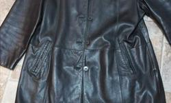 DANIER LEATHER JACKET SIZE XL ADVERTISED ON OTHER SITES PICK UP IS CLOSE TO BROAD ST AND 1ST AVE N TEXT OR EMAIL ONLY. NO PHONE CALLS PLEASE
