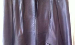 Size large leather jacket in excellent condition. Would fit probably a size 14-16. Black Danier Worn at the most 3 times This ad was posted with the Kijiji Classifieds app.