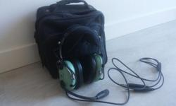 Excellent condition David Clark headset with carrying case. Model # H10 - 13.4