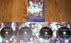 "Deadwood Season One - DVD Boxed Set. Six disc set with over 90 minutes of bonus features. Really good Western series and ""No"" scratches."