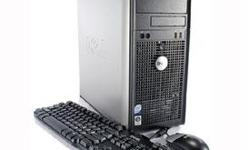 Selling one Dell Optiplex 760 tower-style black/silver computer. Details: * Intel® Pentium® Dual Core Processor E5200 @2.50 Ghz * Windows Vista Business 32-bit operating system (supports 3.2 GB RAM) * 4.0 GB DDR2 / PC2-6400 RAM (does not support