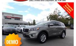 Trans Automatic This 2016 Kia Sorento 2.4L LX comes with alloy wheels, fog lights, tinted rear windows, power locks/windows/mirrors, steering wheel controls, Bluetooth, dual control heated seats, A/C, AM/FM radio, CD player, A/C, rear defrost and more!