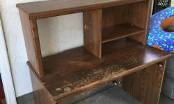A little rough around the edges. Otherwise a fully functional desk! pick up only.