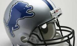 Detroit lions this Sunday vs Falcons $60 uppers sold out game upper endzone seats buy any amount you need call chris @ 519-995-7969 easy pick up near the tunnel or bridge.