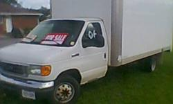 Make Ford Model Econoline E350 Year 2006 Colour white kms 200000 Good truck with roll up door 6 litre diesel automatic original bill of sale over $64,000. Etested safety checked NOW $9500. firm