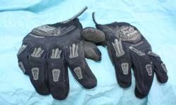 Fox extra large dirt bike gloves black New $55