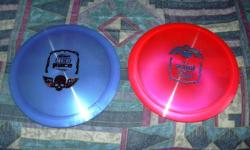 I have a huge supply of new and used disc golf discs, baskets, bags, shirts if you need a great xmas gift I have it