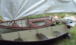 16 ft rowing skiff hand made with epoxy