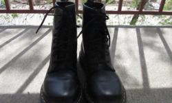 Bought these Dr Martens for $170. Only wore them 5 times. Size 7 women's. They come with free yellow laces.