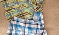 Boys button up shirts. Size 3T. Like new. $5 for both or $3 each.