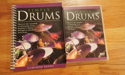 Teach yourself Drums DVD and manual