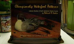 Duck Decoy Pattern Book   Signed by author for Ducks Unlimited   Patterns for Duck Decoys           $25 OBO       Call  250-493-1190