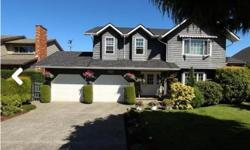 """# Bath 3 Sq Ft 1400 MLS 414088 # Bed 4 Classic """"Tudor"""" influenced 2800 sq ft ( approx) 4 bedroom 3 bathroom home in Eaglepoint (North Nanaimo) with a great ocean & mountain views! The home is in beautiful condition, with immaculate landscaping. Main level"""